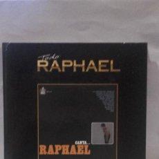 Discos de vinilo: VINILO TODO RAPHAEL CANTA... RAPHAEL 1966 RPM 45 (LP 45) EDICIÓN ESPECIAL LIBRO Y DISCO 2012 EMI. Lote 141949626