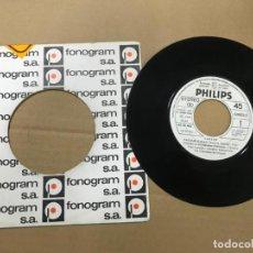 Discos de vinilo: CARLOS / NATALIE (XXI FESTIVAL DE BENIDORM) / SOLOS TU Y YO (SINGLE PROMO 1980). Lote 141951706