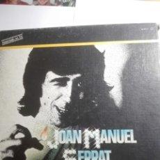 Discos de vinilo: CAJA DE JOAN MANUEL SERRAT-ALBUM DE ORO-CONTIENE 4 LP . Lote 141954134