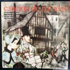 Discos de vinilo: CANCION DE NAVIDAD - DICKENS - (DRAMATIZACIÓN LITERARIO-MUSICAL) - 1962. Lote 141957134