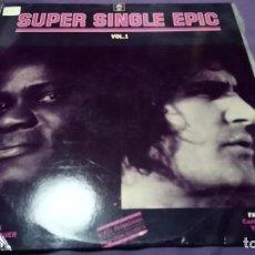 Discos de vinilo: JOE TEX, FAUSTO LEALI - SUPER SINGLE EPIC VOL.1 EPIC SPAIN PROM. Lote 141958318