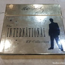 Discos de vinilo: ELVIS PRESLEY - THE INTERNATIONAL EP COLLECTION. 11 VINILOS + POSTER. Lote 141967166