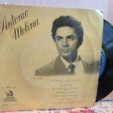 Discos de vinilo: ANTONIO MOLINA -SOY MINERO Y 3 MAS-MUY RARO-. Lote 141970878