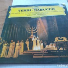 Discos de vinilo: VERDI, NABUCCO.. Lote 142010638