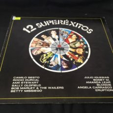 Disques de vinyle: ( 191 ) 12 SUPEREXITOS ( VINILO SEGUNDA MANO ). Lote 142019741