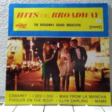Discos de vinilo: HITS DE BROADWAY . Lote 142019894