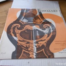 Discos de vinilo: MOZART. SINFONIE IN G-MOLL KV.. Lote 142021450