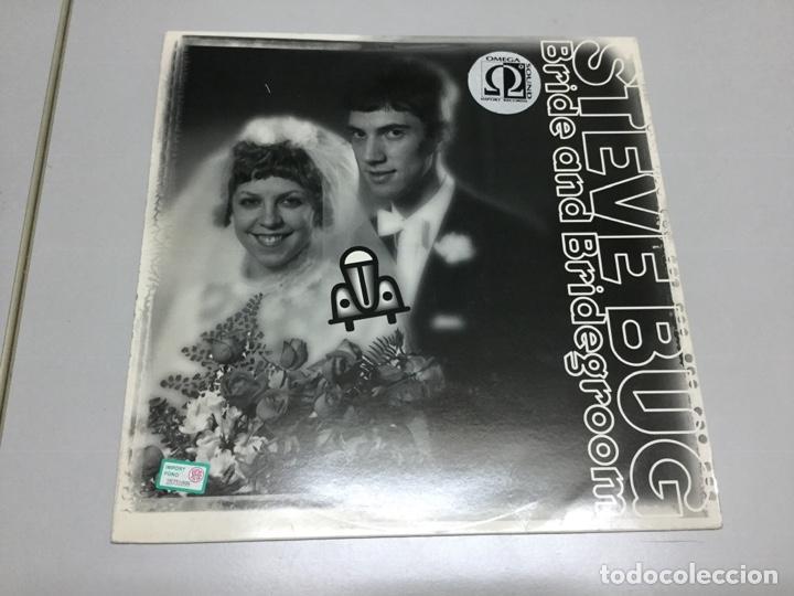 STEVE BUG- BRIDE AND BRIDEGRROOM (Música - Discos de Vinilo - EPs - Electrónica, Avantgarde y Experimental)