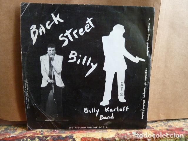 Discos de vinilo: billy karloff band -crazy paving -y otra -single de punk - - Foto 2 - 142022622
