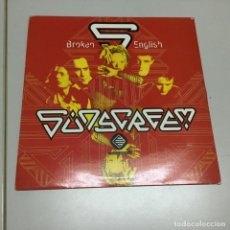Discos de vinilo: SUNSCREEN- BROKEN ENGLISH . Lote 142023334