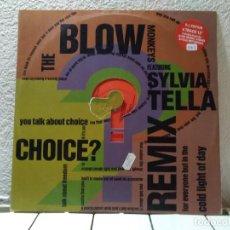 Discos de vinilo: THE BLOW. Lote 142033974