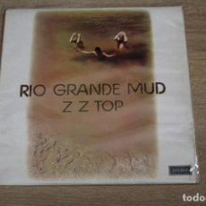 Discos de vinilo: ZZ TOP. RIO GRANDE MUD, 1972M LONDON RECORDS, 1972.. Lote 142036638