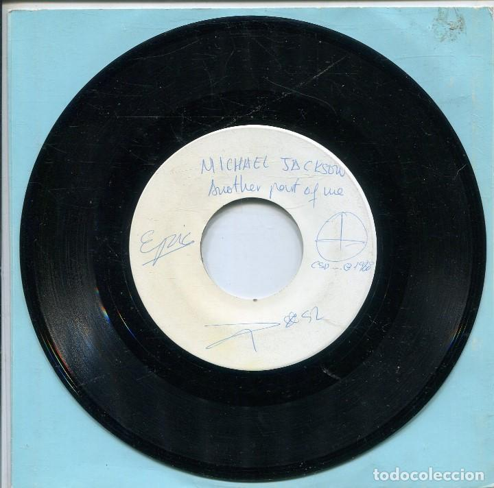 MICHAEL JACKSON / ANOTHER PART OF ME (TESS PRESSING) SOLO CARA A (Música - Discos - Singles Vinilo - Funk, Soul y Black Music)