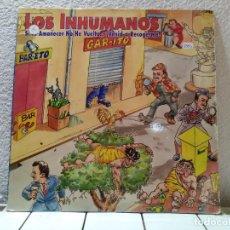 Discos de vinilo: LOS INHUMANOS . Lote 142040814