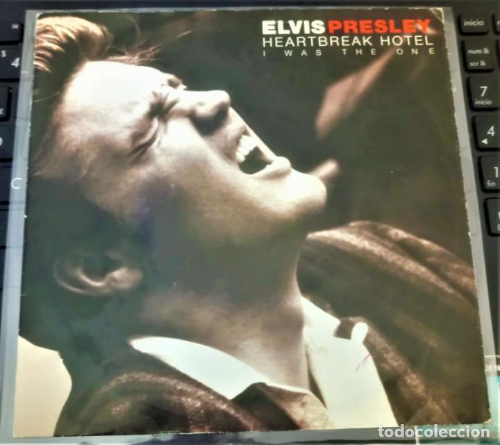 ELVIS PRESLEY - HEARTBREAK HOTEL / I WAS THE ONE - EP 45 RPM - (Música - Discos de Vinilo - EPs - Rock & Roll)