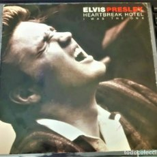 Discos de vinilo: ELVIS PRESLEY - HEARTBREAK HOTEL / I WAS THE ONE - EP 45 RPM -. Lote 142050374