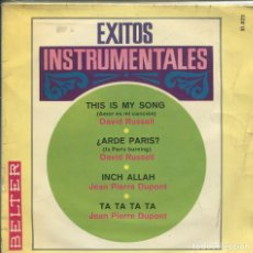 Discos de vinilo: EXITOS INSTRUMENTALES / THIS IS MY SONG + 3 (EP 1967). Lote 142050626