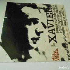 Disques de vinyle: XAVIER, EP, LONGA NOITE DE PEDRA + 3, AÑO 1.968. Lote 142063650