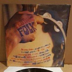 Discos de vinilo: FESTIVAL DE FOLK / VARIOS ARTISTAS / LP - ALS 4 VENTS - 1967 / MBC. ***/*** DIFÍCIL. Lote 142078526