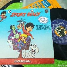 Discos de vinilo: SUPERBANDA SINGLE SPORT BILLY SALVADOR 1981. Lote 142093464