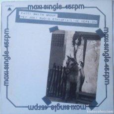 Discos de vinilo: PATTI SMITH GROUP...HEY JOE / RADIO ETHIOPIA (LIVE VERSION).(ARISTA 1978.) SPAIN. Lote 142105902