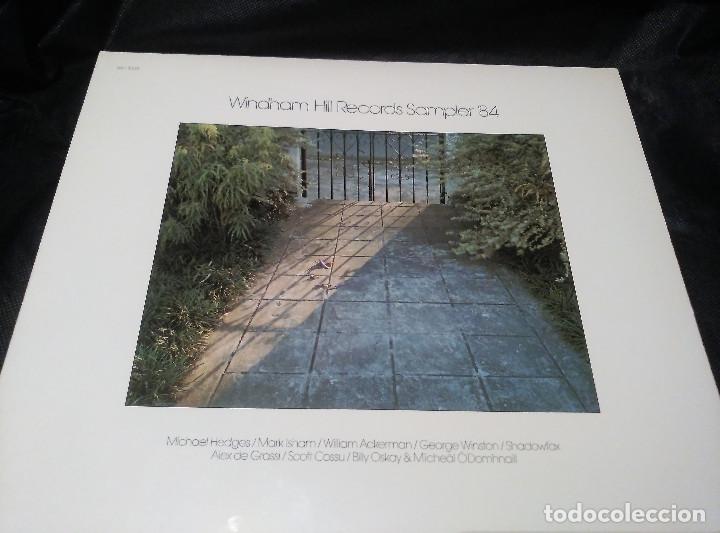 WINDHAM HILL RECORDS SAMPLER ´84, VERSIÓN US, WH-1035 (Música - Discos - LP Vinilo - Jazz, Jazz-Rock, Blues y R&B)