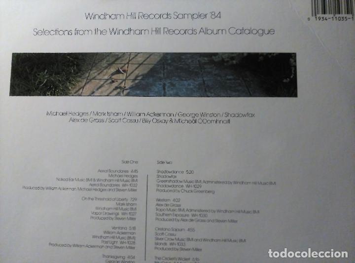 Discos de vinilo: Windham Hill Records Sampler ´84, Versión US, WH-1035 - Foto 3 - 142106790