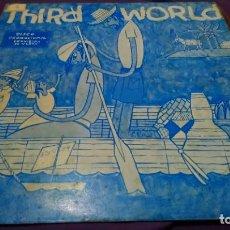 Discos de vinilo: THIRD WORLD - AHORA QUE ENCONTRAMOS EL AMOR + ONE COLD VIBE - MAXISINGLE PROMOCIONAL 1978. Lote 142115026