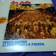 Discos de vinilo: MAXI - LOS JOAO - DISCO SAMBA / ALGRANDO LA FIESTA. Lote 142115902