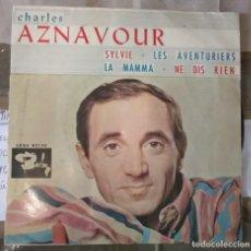 Discos de vinilo: CHARLES AZNAVOUR - SYLVIE. Lote 142127974