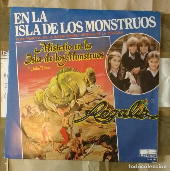 EN LA ISLA DE LOS MONSTRUOS BSO - REGALIZ (Música - Discos - Singles Vinilo - Música Infantil)