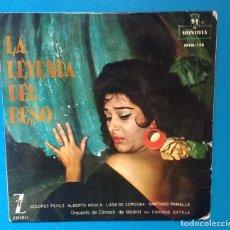 Discos de vinilo: DOLORES PÉREZ. LA LEYENDA DEL BESO. Lote 142141306