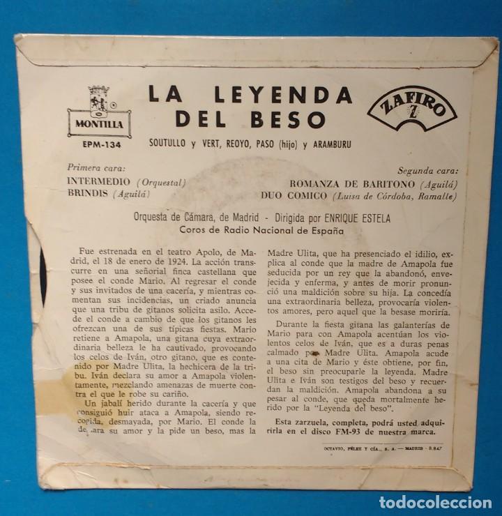 Discos de vinilo: DOLORES PÉREZ. LA LEYENDA DEL BESO - Foto 2 - 142141306
