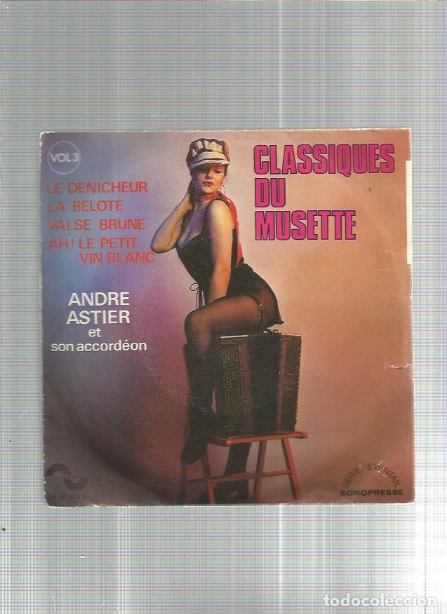CLASSIQUES DU MUSETTE 3 (Música - Discos - Singles Vinilo - Otros estilos)