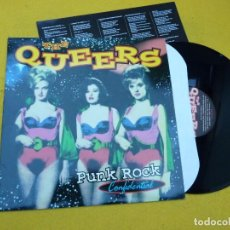 Discos de vinilo: LP THE QUEERS ?– PUNK ROCK CONFIDENTIAL (EX++/EX++) INSERT VINYL Ç. Lote 142151450