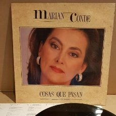 Discos de vinilo: MARIAN CONDE / COSAS QUE PASAN / LP - DIAPASON - 1991 / COMO NUEVO / ***/***. Lote 142186002