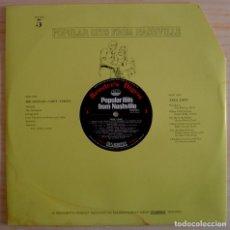 Discos de vinilo: POPULAR HITS FROM NASHVILLE - DISCO 5 - LP - READER'S DIGEST. Lote 142188254