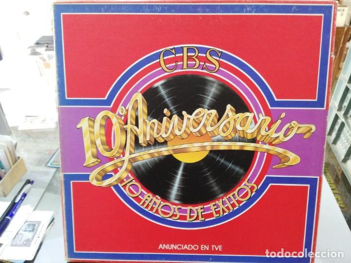 CBS 10º ANIVERSARIO - 10 AÑOS DE ÉXITOS - LP. DEL SELLO CBS DE 1979 (Música - Discos - LP Vinilo - Otros estilos)