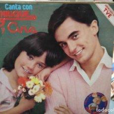 Discos de vinilo: ENRIQUE Y ANA - CANTA CON ENRIQUE Y ANA - LP. DEL SELLO HISPAVOX DE 1979. Lote 147215077