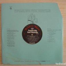 Discos de vinilo: POPULAR HITS FROM NASHVILLE - DISCO 6 - LP - READER'S DIGEST . Lote 142189174