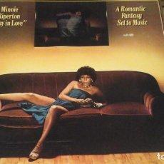 Discos de vinilo: MINNIE RIPERTON.STAY IN LOVE.A ROMANTIC FANTASY SET TO MUSIC. Lote 142196398