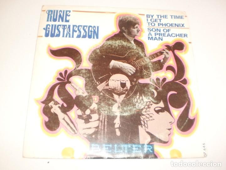 SINGLE RUNE GUSTAFSSON. BY THE TIME I GET TO PHOENIX. SON OF A PREACHER MAN. BELTER 1969 SPAIN (Música - Discos - Singles Vinilo - Pop - Rock - Extranjero de los 70)