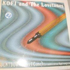 Discos de vinilo: MAXI SINGLE. KOFI AND THE LOVETONES. COUNTDOWN (HERE I COME) VICTORIA 1984 SPAIN (PROBADO Y BIEN). Lote 142215730