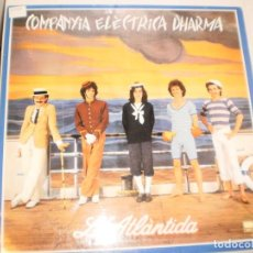 Discos de vinilo: LP COMPANYIA ELÈCTRICA DHARMA. L'ATLÀNTIDA. BELTER 1981 SPAIN CARPETA DOBLE (DISC PROVAT I BÉ) . Lote 142216770