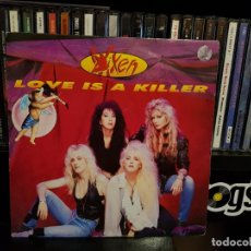 Discos de vinilo: VIXEN - LOVE IS A KILLER. Lote 142240806