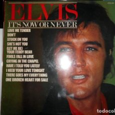 Discos de vinilo: ELVIS PRESLEY – IT'S NOW OR NEVER LP ROCK ROCKANDROLL. Lote 142241010