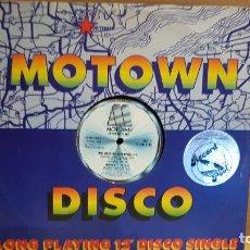 Discos de vinilo: MOTOWN SOUNDS / SPACE DANCE /BAD MOUTHIN' / MAXI SG - MOTOWN - 1979 / MBC.***/*** LIGERO USO.. Lote 142241610