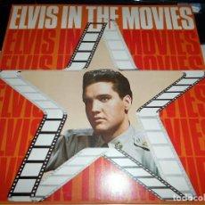 Discos de vinilo: ELVIS PRESLEY – ELVIS IN THE MOVIES ROCK POP ROCK . Lote 142242174