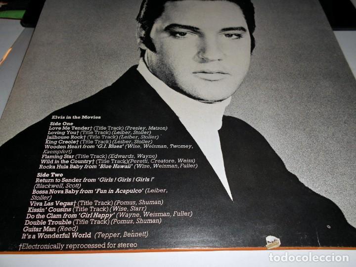 Discos de vinilo: Elvis Presley – Elvis In The Movies ROCK POP ROCK - Foto 2 - 142242174