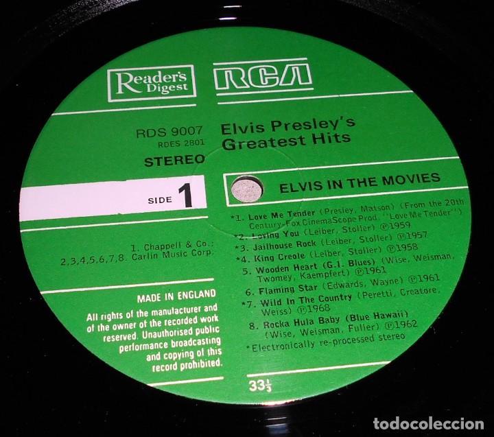 Discos de vinilo: Elvis Presley – Elvis In The Movies ROCK POP ROCK - Foto 3 - 142242174